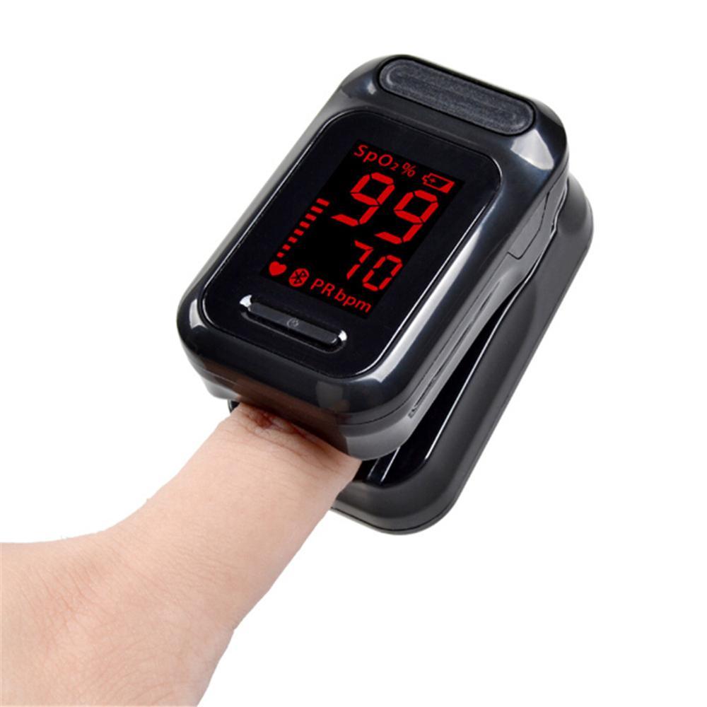 Finger Pulse Oximeter Blood Oxygen Monitor Finger Tip Pulse Oximeter Health Care Heart Rate Ximetro Monitor