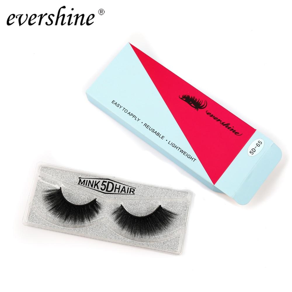 Myue Real 3d False Eyelashes New Fake Lashes Natural Long Make Up Mink Eyelash Extension For Beauty #5d-65
