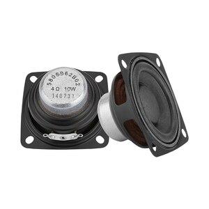 Image 5 - Aiyima 2 pc 2 Polegada 4ohm alto falante gama completa alto falante música de som driver 10 w 15 20 alto falante de rádio diy para o sistema de áudio em casa
