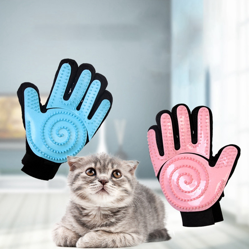 Pet Dog Grooming Glove Brush Comb Cat For Animal Hair