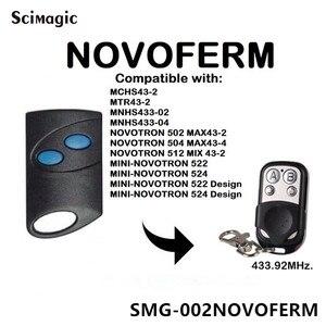 Image 3 - NOVOFERM NOVOTRON 302/304,NOVOFERM MNHS433 02/04 replacement remote control