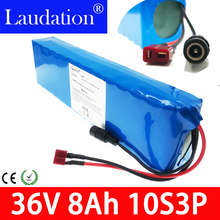 36v battery pack 8ah 10s3p li ion 500W High Power and Capacity 42V 7.8ah Motorcycle Bicycle Scooter