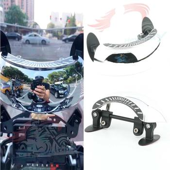 Wide Angle Motorcycle Rearview Rear View Mirror Windshiled Windscreen Safety Mirrors Panoramic Modified Accessories Universal