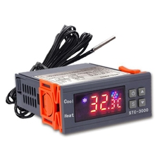 STC-3000 High Precision Digital Thermostat for Incubator Temperature Controller Thermoregulator Heating Cooling 220V