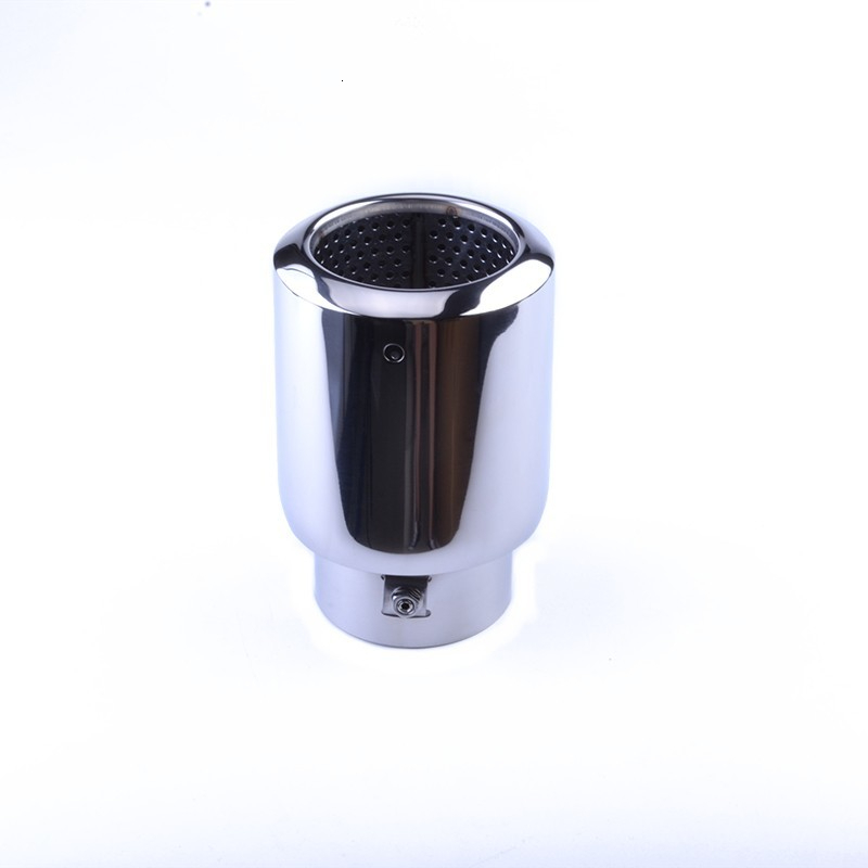 ESPEEDER Universal Stainless Steel Car Auto Exhaust Tip Pipe Car Styling Exhaust Tail For  CX-258  Exhaust Muffler Tail Pipe Tip