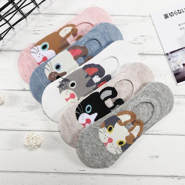 Носки женские с видом животных 3
