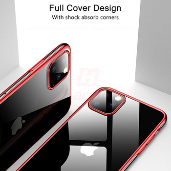 Hacrin Transparent TPU Silicone Case for iPhone 11/11 Pro/11 Pro Max 2