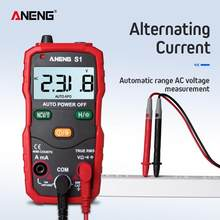 Aneng S1 Digitale Multimeter Professionele Lcd Smart Multimeters Spanning Ampèremeter Tester True Rms Auto Manual Range Ncv Tester(China)