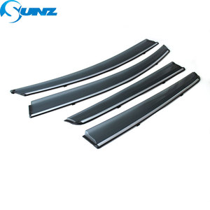 Image 2 - smoke Car Side Window Deflectors For CHERY Arrizo 3 2015 2016 2017 2018 Sun Shade Awnings Shelters Guards accessories SUNZ