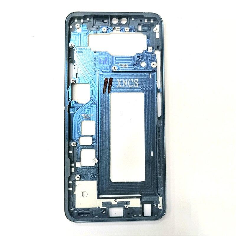 For LG V40 Front Frame Bezel Housing LCD Screen Holder Frame Replacement Parts