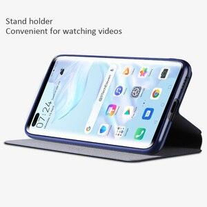 Image 4 - X level Book skórzane etui z klapką do Huawei P40 Pro Pro + Plus Ultra cienka szczupła