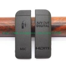 (عالية الجودة) جديد USB/HDMI تيار مستمر في/الفيديو خارج غطاء الباب المطاط لكانون EOS 6D كاميرا رقمية إصلاح جزء