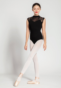 Image 2 - Ballet Leotard Adult 2020 Black Comfortable Practice Dance Wear Women Aerobics Gymnastics Leotard Adult Ballet Dancing Skirt