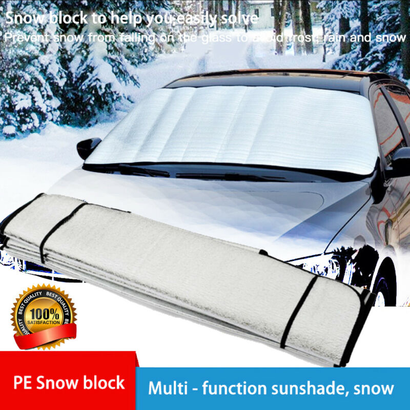 Winter Frost Cover Ice Snow Shield Window Protector Car Windscreen Windshield