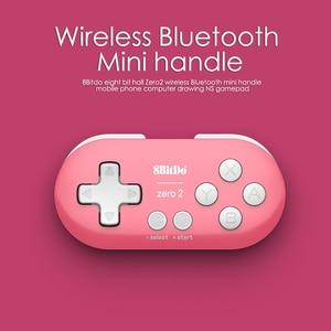 Image 4 - 8BitDo ZERO 2 บลูทูธไร้สาย Controller Candy สีมินิเกมจอยสติ๊กสำหรับ Nintendo SWITCH เกม Lite เครื่อง PS3 PC ไอน้ำ
