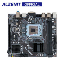 ALZENIT G41I-D3 Papan Utama G41 Untuk Intel LGA 771/775 DDR3 8GB SATA2.0 USB2.0 Mini ITX Mainboard(China)