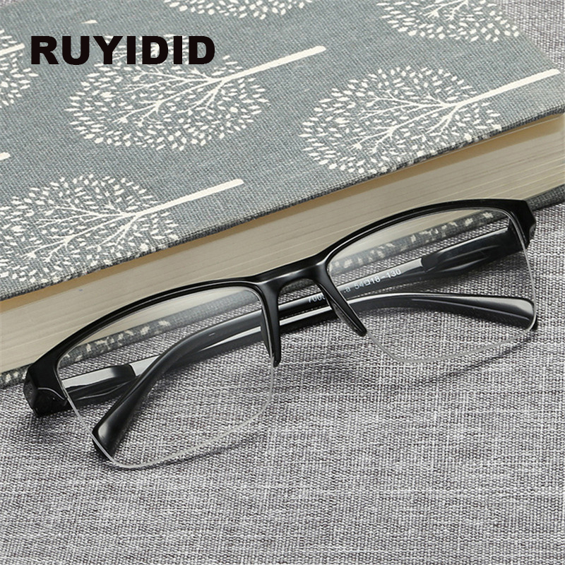 Square Half Frame <font><b>Reading</b></font> <font><b>Glasses</b></font> Women <font><b>Men</b></font> Hyperopia Eyeglasses 0.25 0.5 0.75 1 1.25 1.5 1.75 2 <font><b>2.25</b></font> 2.5 2.75 3 3.25 3.5 3.75 4 image
