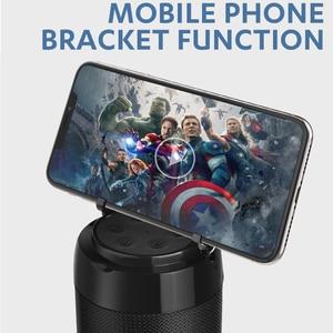 Image 5 - TG113C sütun taşınabilir Bluetooth Mini hoparlör FM radyo TF kart AUX kablosu kablosuz Loundpeakers ve telefon tutucu 9 renkler
