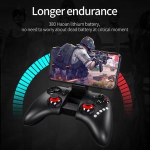 Image 4 - HOCO Gamepad אלחוטי Bluetooth ג ויסטיק עבור PS4 בקר אלחוטי קונסולת עבור iPhone אנדרואיד משחק Pad Joypad משחקי Accessorie