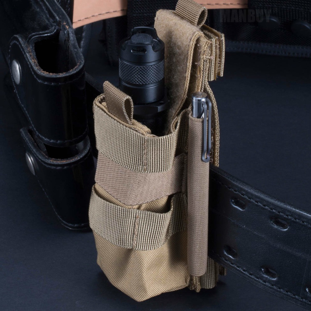 Free Shipping NITECORE NCP30 NCP40 Tactical Holster Flashlight Holder Case Pouch Nylon Professional Accessory Equipment 2 Colors