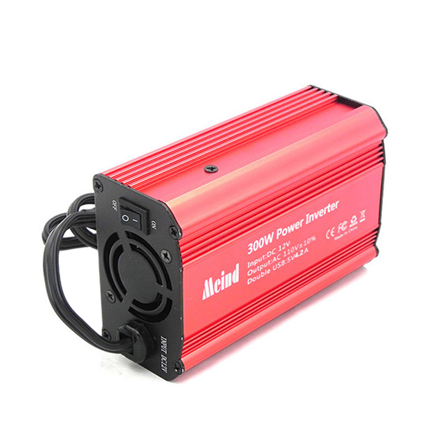 300W Power Inverter DC <font><b>12V</b></font> zu 110V <font><b>AC</b></font> Auto Power Inverter mit <font><b>4.2A</b></font> Dual USB Auto <font><b>Adapter</b></font> image