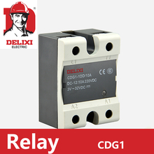 цена на DELIXI SSR-60DA Relay Single Phase DC Control AC 24-480VAC 3-32VDC CDG1-1DA 60A DA Solid State Relay