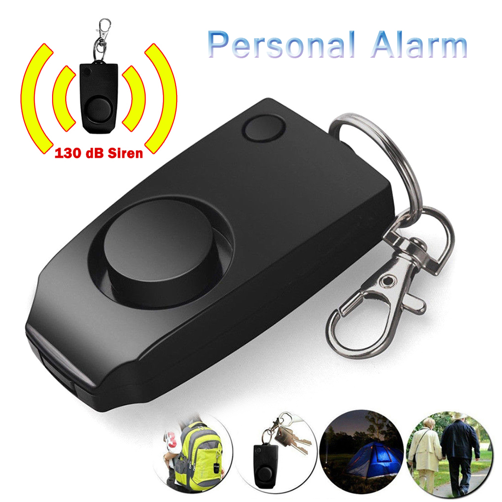 2019 Anti-rape Device Alarm 130dB Safe Sound Emergency Attack Self-defense Keychain Personal Alarm For Women Girls Kids Elderly