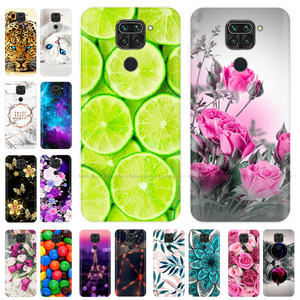 Phone Case For Xiaomi Redmi Note 9 Case 6.53'' Soft Silicone TPU Back Cover for Xiaomi Redmi Note 9 Note9 Case Coque Fundas Para