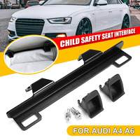 New ISOFIX Belt Interfaces Guide Bracket For Audi A4 A6 ISOFIX Child Safety Seat Interface Retainer Seat Baby Car Safe Chair