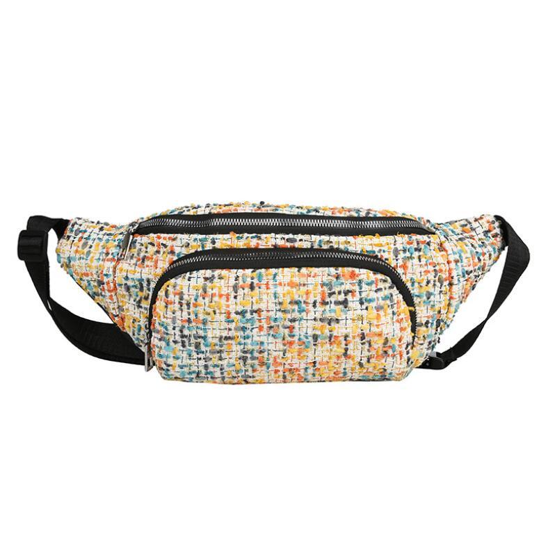Waist Bag 2019 Fanny Pack Fashion Style Women's Belt Bag Hip Hop Fashion Bum Bag Female Sling Chest Bag For Outdoor Sports