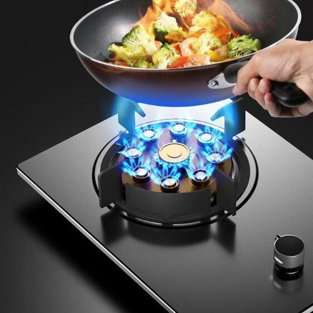 Wz1602. Cuisinière à gaz, cuisinière à gaz, poêle simple, maison de location, four, ménage, petite taille, plan de travail, gaz de liquéfaction