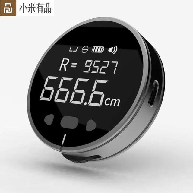 2020 Youpin DUKA(Atuman) Little Q Electronic Measuring Ruler Tape HD LCD Screen Long Standby Rechargeable Ruler Electric Ruler