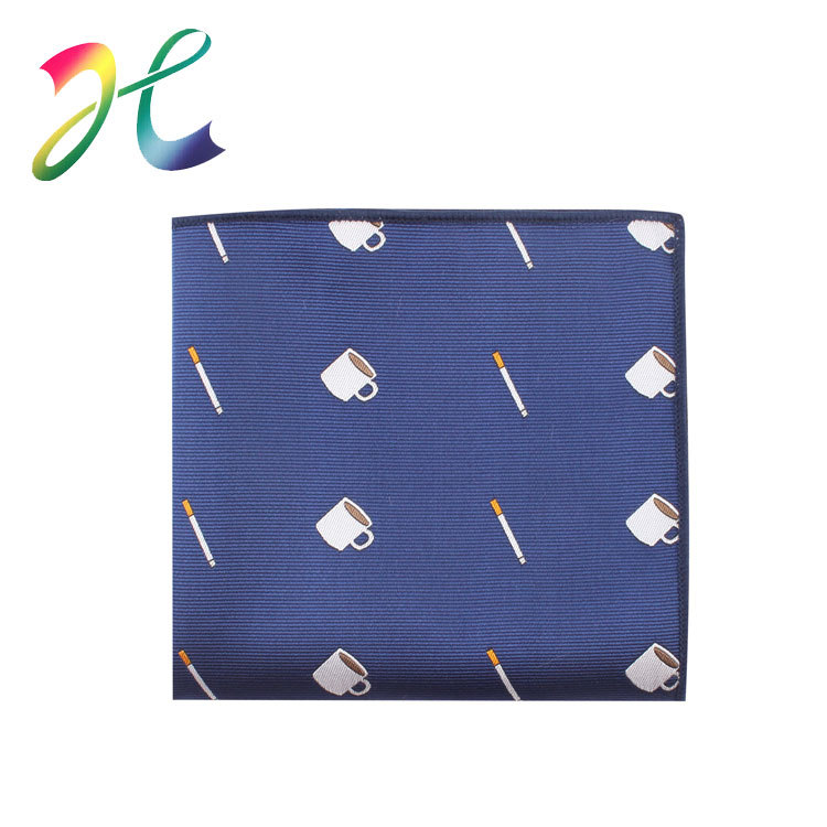 Customizable Men Marriage Formal Dress Polyester Pocket Square Festive Banquet Ball Only Pocket Square Manufacturers Direct Sell