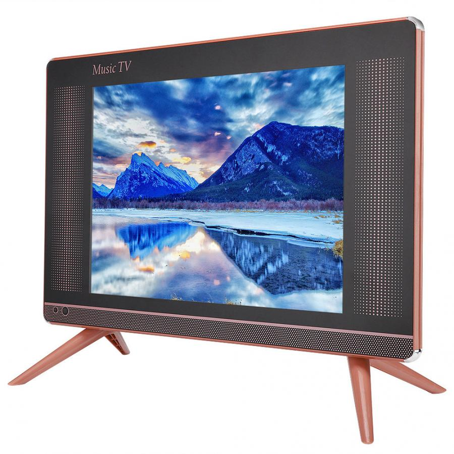 HDMI VGA Television Lcd-Tv Portable NTSC SECAM with Bass-Sound 110-240V Home High-Definition