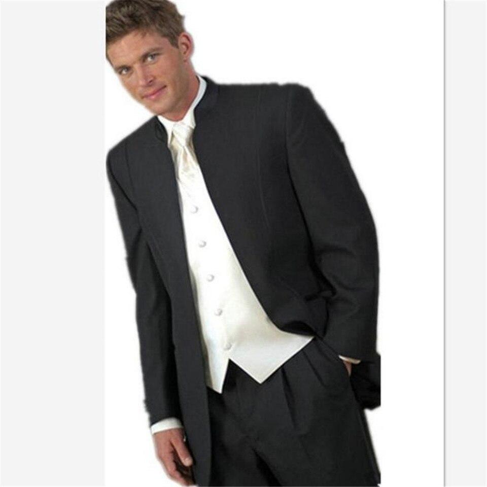 New Design Notch Collar Royal Blue Men Suit Vintage Italian Style Best Men Tuxedos For Weddings Mens Suits (Jacket+Pants+Vest)