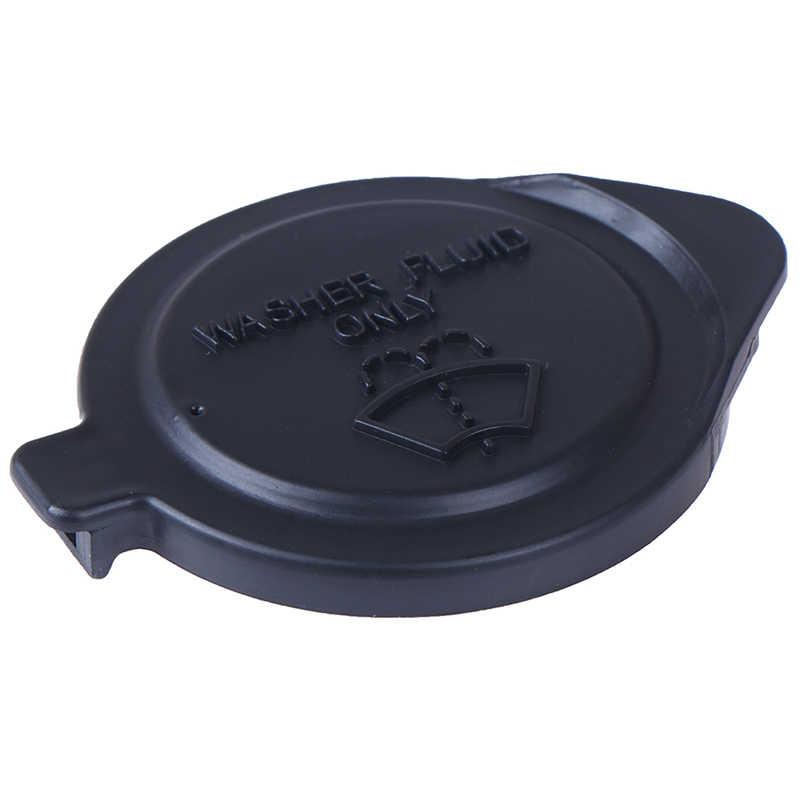 Araba ön cam sileceği Washer sivi rezervuar tankı şişe Pot kapak kapak için Peugeot / Citroen çift siyah