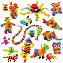 Toys Assembling-Toys Thorn-Ball Construction Magic Children for Gifts 100-1200pcs 3d-Model