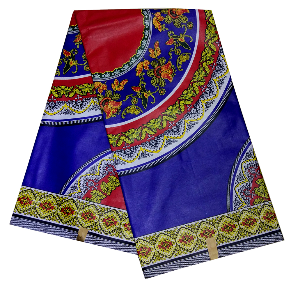 2019 100% Cotton Fabric For Women Dress African Wax Print Fabric Real Veritable Dutch Wax 6 Yards