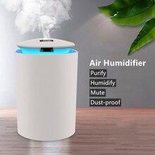 260ml USB Air Humidifier Ultrasonic Aroma Essential Oil Diffuser Car Mist Maker Mini Office Air Purifier Household Decor