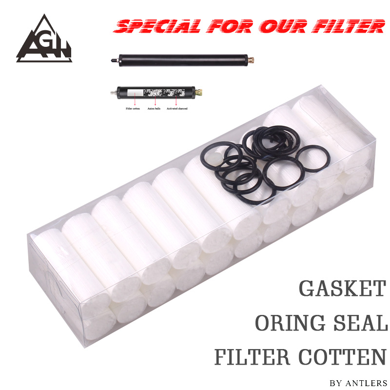 Special Only For Our Filter / High Pressure Pcp Air Filter Oil-water Separator Air Filter Cotton Set For Pcp Pump Filter