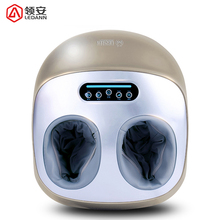 цена на Hot Electric Vibrator Foot Massager Health Care Massage Infrared Heating Therapy Shiatsu Kneading Air Pressure Machine