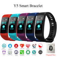 Tonbux Y5 Smart Band Herz Rate Tracker Fitness Tracker Y5 Smartband Smart Armband Wasserdicht Smart Armband Smart Uhr Männer