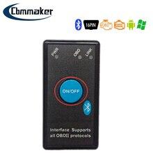 ELM327 OBD2 Bluetooth V2.1 V1.5 Car Diagnostic Scan Tool Switch Delphis Diagnostic Car Repair Tool Auto Code Reader Scan Tools
