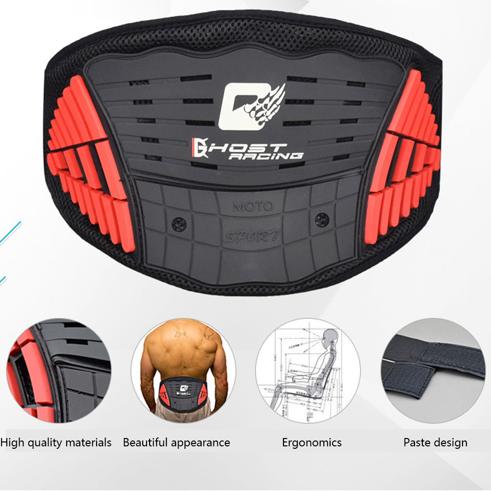 Protective Motorcycle Belt Off-Road Outdoor Kidney Protection Locomotive Skiing Anti-fall Bicycle Spandex Riding Sports