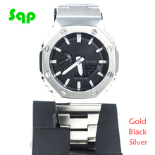 GA2100 Watch Set Modification GA2100 Watchband Bezel 100% Metal 316L Stainless Steel