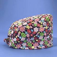 Htthdd Модная хлопковая маленькая шляпа с цветочным принтом