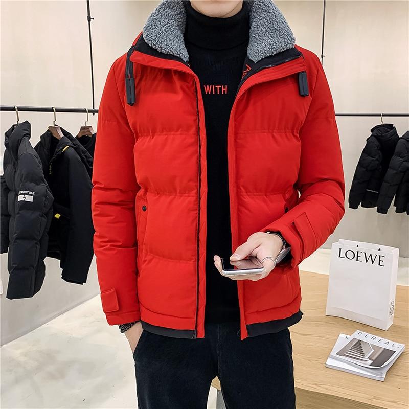 2019 New  Mens Jacket Fashion Slim Male Jacket Hip Hop Men Jacket Winter Warm Jacket Men High Quality Casual Coat Big Size M-4XL