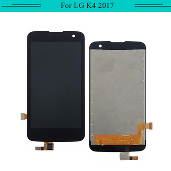 3PCS New For LG K4 2017 M160 full LCD Display Assembly with Touch Screen Glass Digitizer Complete with free shipping