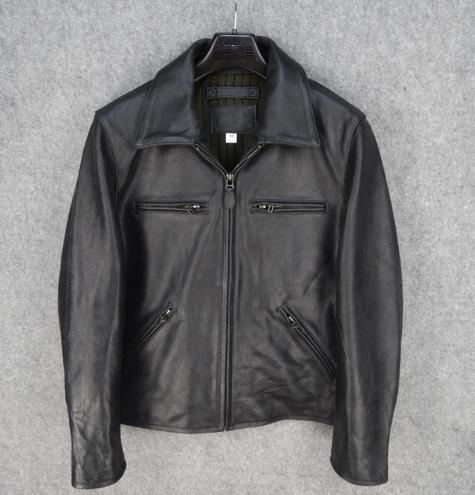 Free Shipping.Classic Mens Jacket.genuine Leather Motor Coat.man Cowhide Quality Clothes,brand New Vintage Warm Jackets