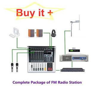 2000W nadajnik FM + 1-Bay + 30 metrów z złącze z cyfrowy koder Rds kompletny pakiet (wszystkich 11 zestawów urządzeń) tanie i dobre opinie YXFMTV CN (pochodzenie) YXHT 2000W FM 220 v